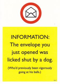 Licked Shut by a Dog...