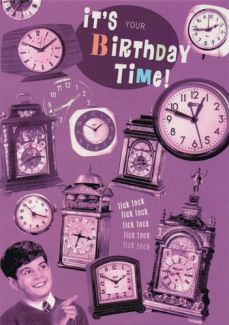 Its Your Birthday Time