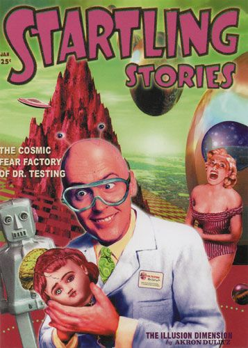Startling Stories - The Cosmic Fear Factory