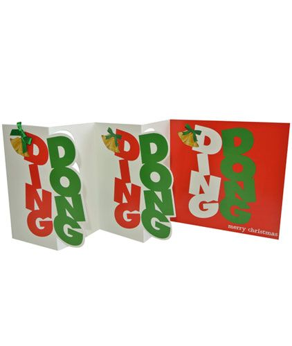 Ding Dong (Multi-folded) x 5 Cards
