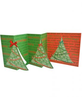 Tree (Multi-folded) x 5 Cards