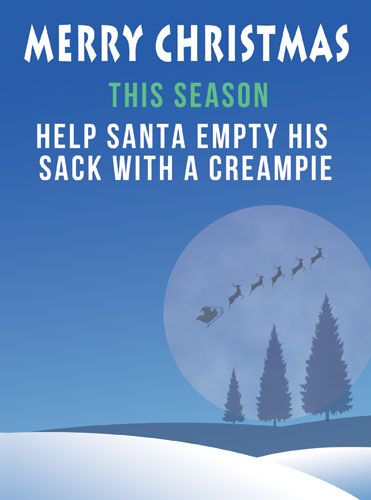 Help Santa Empty His Sack with a Creampie