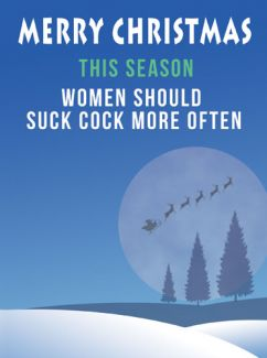 This Season Women Should Suck Cock More Often