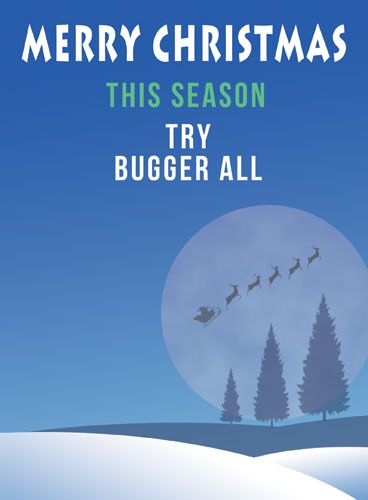 This Season Try Bugger All