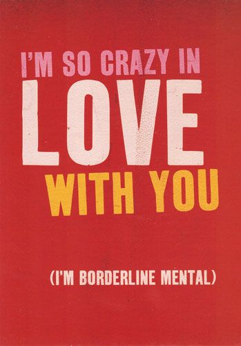 Borderline Mental 'So Crazy in Love'...
