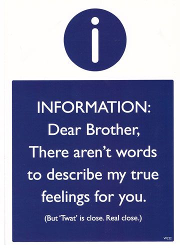 Dear Brother...