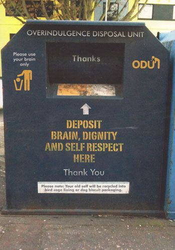 Overindulgence Disposal Unit
