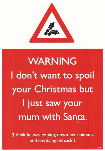 I dont want to Spoil Your Christmas...