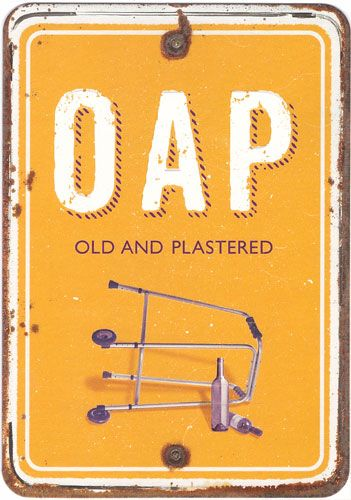 OAP Old and Plastered