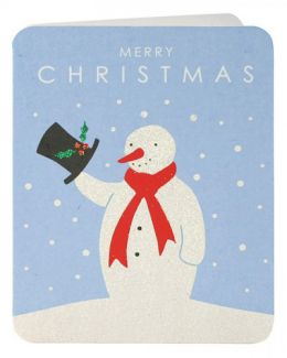 Snowman Mini Cards (pack of 5)
