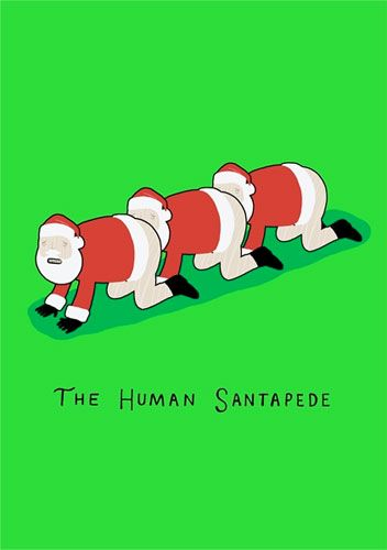 The Human Santapede