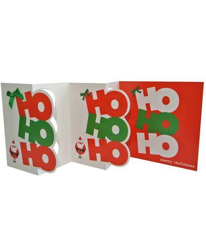 Hohoho (Multi-folded) x 5 Cards