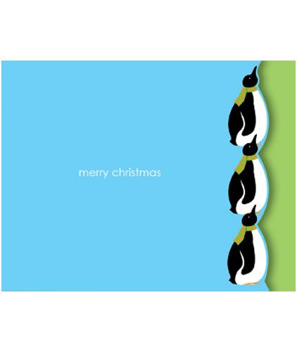 Mini Penguins x 5 Cards