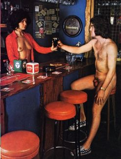Naked Down The Pub(e)
