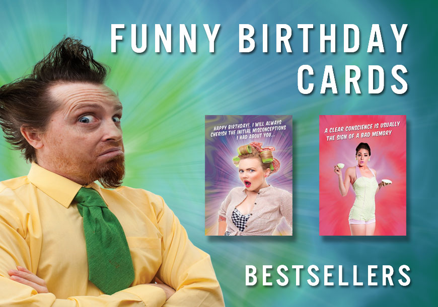 Best Selling Funny Birthday Cards