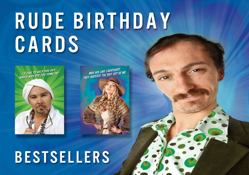 Best Selling Rude Birthday Cards