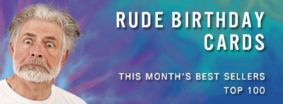 Rude Cards - This month's best sellers